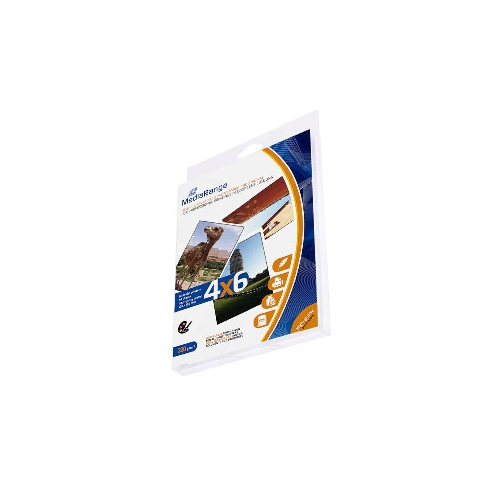 Papel Fotografia 100x150mm Brilhante 220gr Pack 50 Unidades