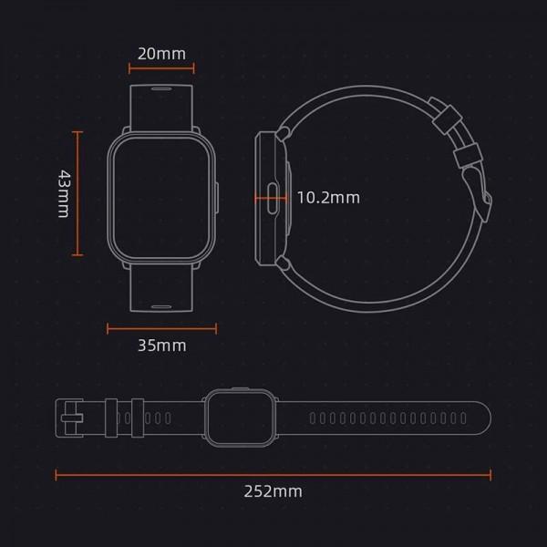 Vidro Temperado Preto (3D) p/ Xiaomi Mi A2 Lite / 6 Pro