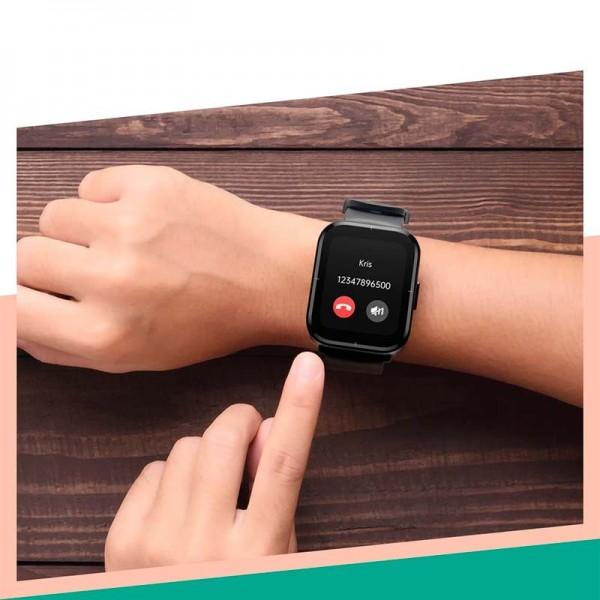 Smartwatch I6 GPS c/ SIMM PRETO