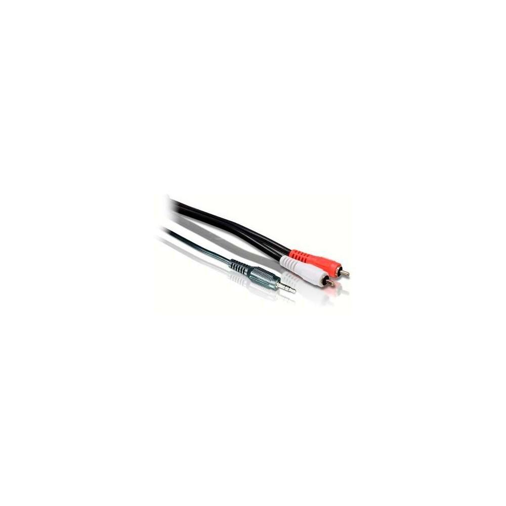 Adaptador Red Universal Entrada 1 x USB 2 Amperios Black
