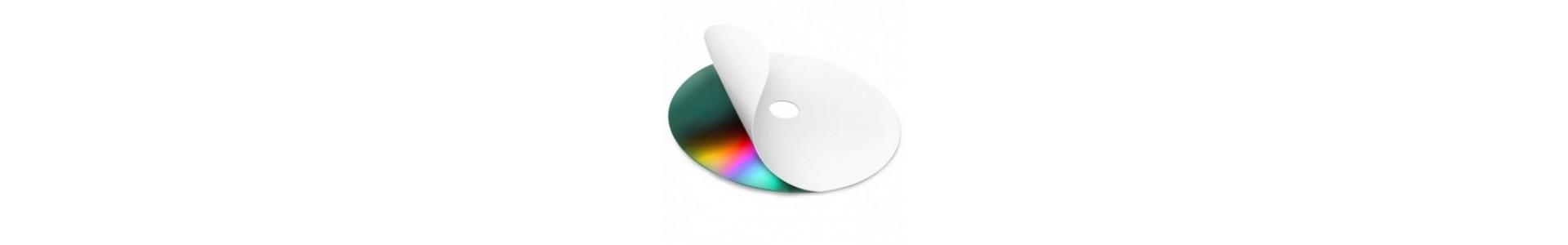 Etiquetas CDs/DVDs